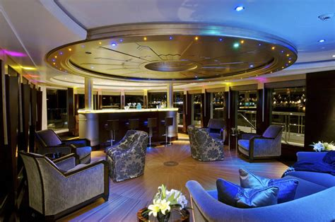 dinner on a boat tenerife sleek mega yacht quot kismet quot cruises in style idesignarch