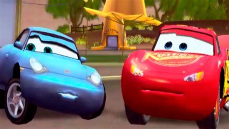 cars sally cars sally s circuit disney pixar