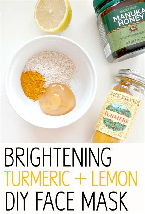 Whitening Series Brightening Series glowing skin series brightening turmeric lemon diy