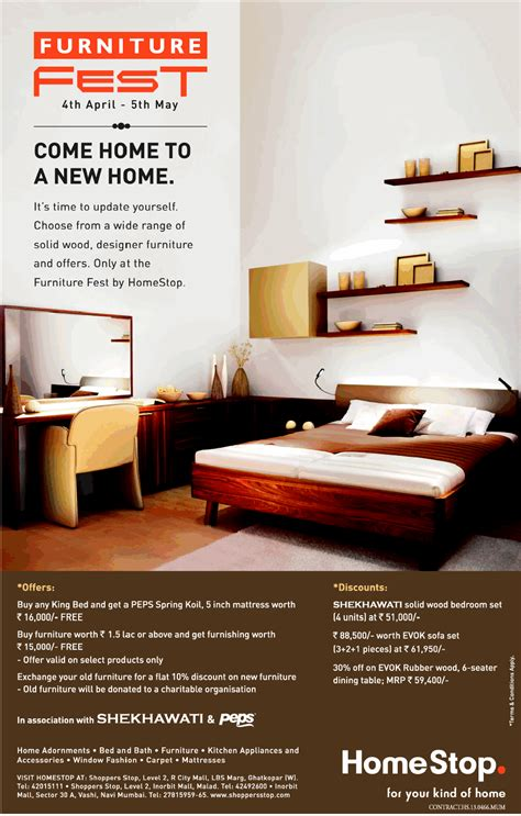 home stop furniture mumbai saleraja