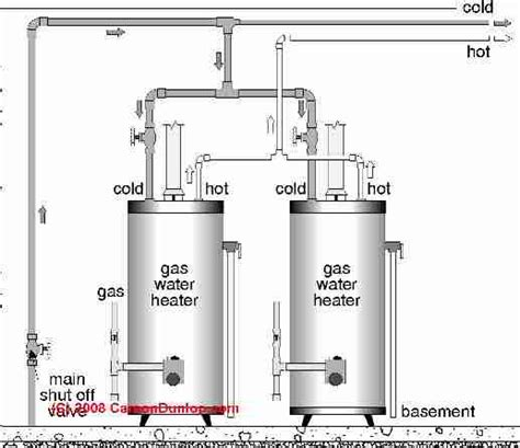 Water Heater Plumbing Diagram by High Efficiency Boiler Piping Schematics Get Free Image