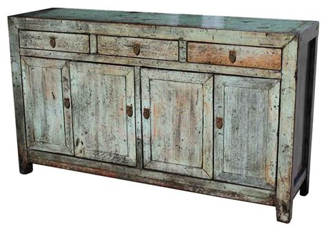 Distressed Sideboards And Buffets wood distressed saddlemeyer buffet asian buffets and sideboards by mortise tenon