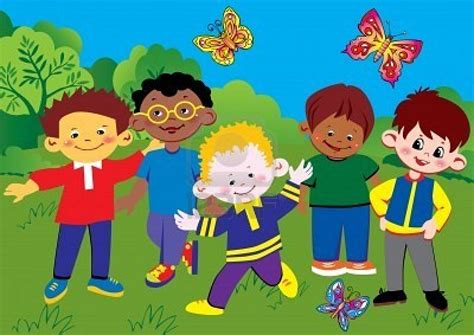 imagenes niños felices jugando ninos jugando en caricatura related keywords ninos