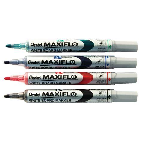 Marker Whiteboard pentel maxiflo whiteboard markers pack of 4 ymwl5s 4