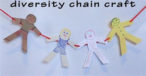 black history crafts for activities black history month diversity chain to