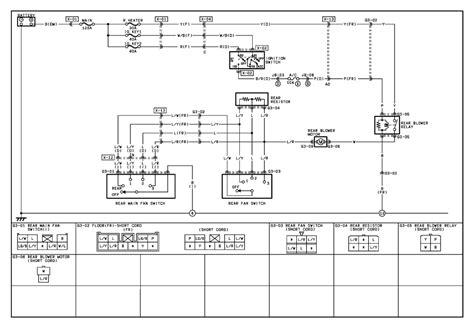2002 mazda mpv wiring diagram wiring automotive wiring