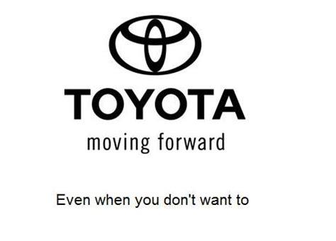 Toyotas Slogan Toyota S New Slogan