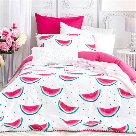 Designer Quilt Covers Australia by New Pt Designer Watermelon Quilt Cover Set Ebay