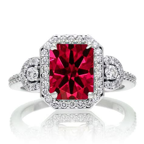 Ruby Engagement Rings by How To Buy An Engagement Ring Gentleman S Gazette
