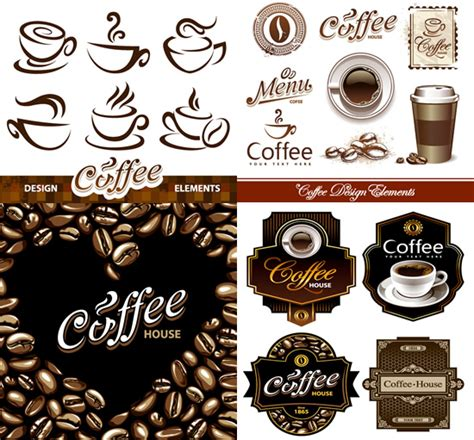 western design elements vector free coffee western style element art vector vector food free