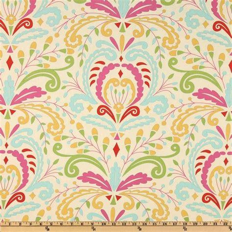 Kumari Garden Fabric by Kumari Garden Sujata Pink