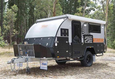 offroad travel trailers warrior road hybrid caravan