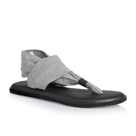 sandals sanuk sanuk w sling 2 sandals grey free uk delivery on