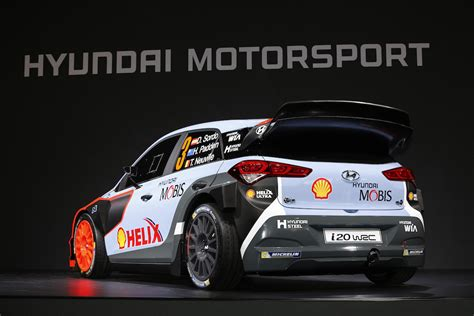 hyundai motor sports hyundai racing hyundai motorsport unveils new i20 wrc for