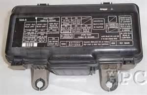 2000 2003 honda s2000 fuse box engine ebay