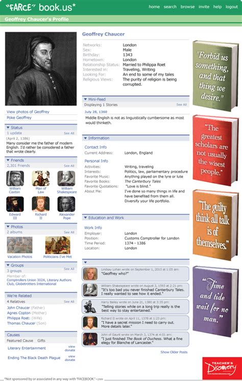 farcebook template authors farce book s discovery