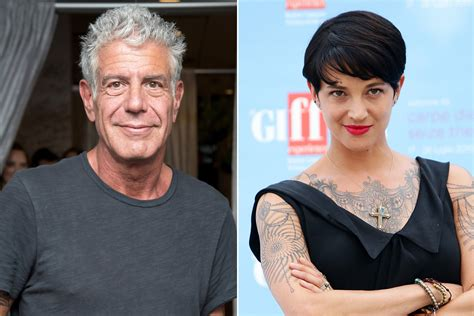 new dating anthony bourdain is dating a italian page six