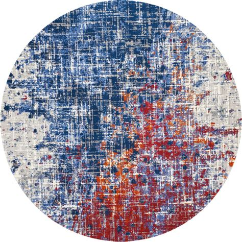nourison twilight twi red  blue   large rug