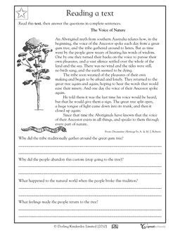reading comprehension tests y4 our 5 favorite prek math worksheets nature homework and