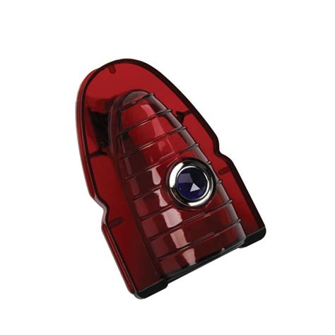 red plastic tail light material 1954 chevy blue dot tail light lens red plastic
