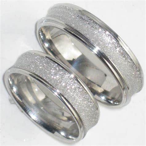his hers 6MM SANDBLAST WEDDING RING BAND STR383w MENS OR