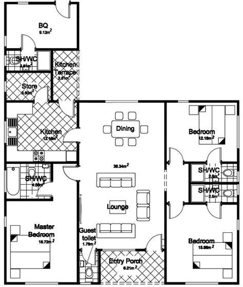3 Bedroom Flat Plan Drawing by Architectural Drawings Plan Of Three Bedroom Flat Luxury
