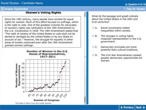 ged test prep social studies question types dummies