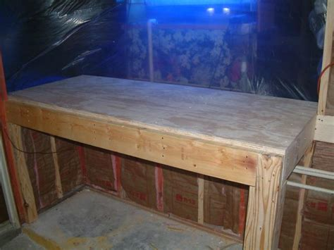 ilive blue cabinet system reef addicts tank stands wood versus steel