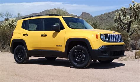 Jeep Renegade Road Road Test 2016 Jeep Renegade Sport 4x4 Testdriven Tv