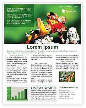 gridiron football newsletter template for microsoft word