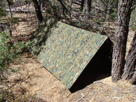 How To Build A Tarp Shed by 3 Of The Easiest Survival Shelters For Shtf Scenarios