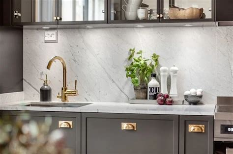 grey kitchen cabinets brass hardware quicua com dream home dark gray and brass beautiful home