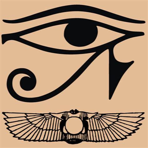 egyptian eye tattoo designs 45 horus eye designs