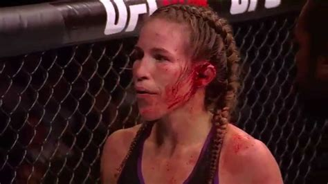 ufc fighter s ear explodes