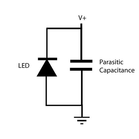 parasitic capacitor using leds as light detectors ldds ch00ftech industries