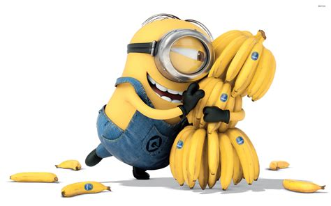 Wallpaper Minions Banana | minion bananas wallpapers hd wallpapers id 14230