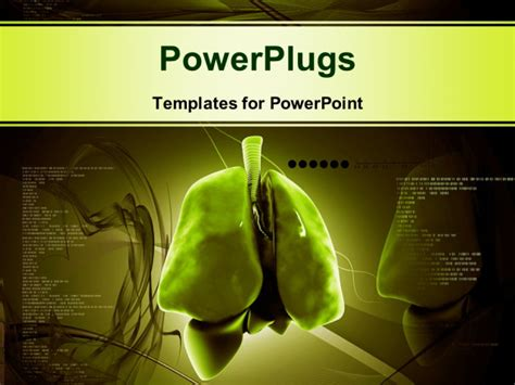 powerpoint themes lungs digital illustration of human lungs with colorful