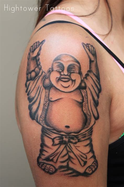 happy buddha tattoo designs biceps tattoos and designs page 65