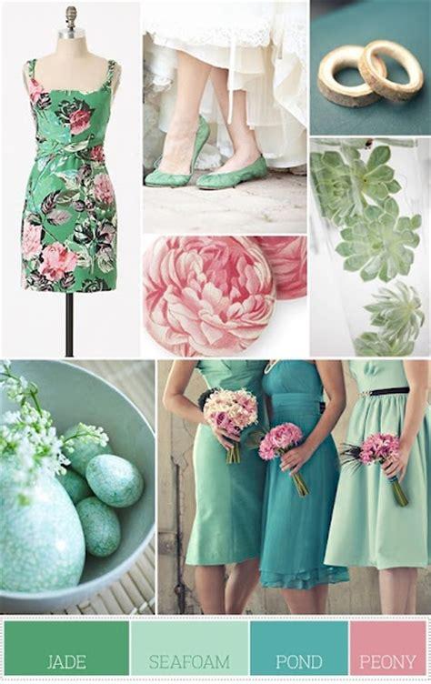 4 beautiful spring wedding color palettes ewedding