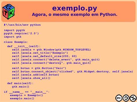 tutorial python gtk mini tutorial de gtk