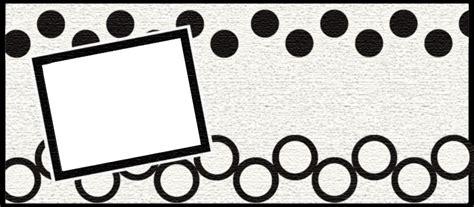 header design black and white blog designs by dani faded black n white circles header 3