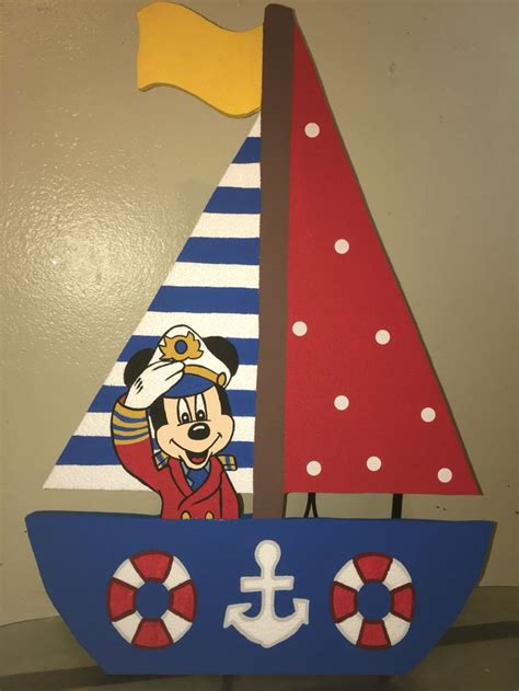 mickey mouse boat mickey mouse nautical sailor foam boat with mickey captain