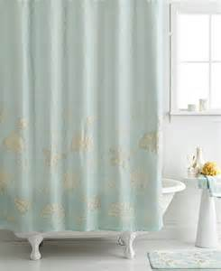 avanti bath sequin shells 72 quot x 72 quot shower curtain