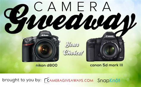 Free Camera Giveaway - new latest free dslr camera giveaway january 2015 pickybiz