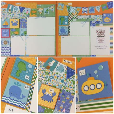 doodlebug anchors aweigh 1000 images about kid scrapbooking ideas on