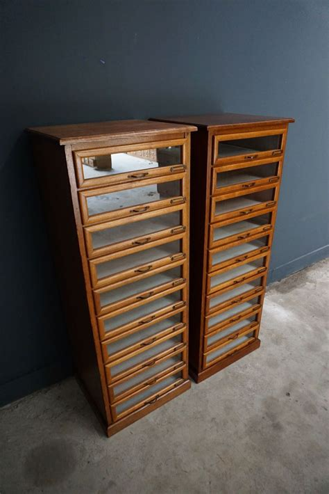haberdashery cabinet for sale oak haberdashery shop cabinet 1930s for sale at pamono