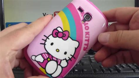hello kitty themes samsung s3 mini carcasa samsung galaxy s3 mini i8190 funda hello kitty