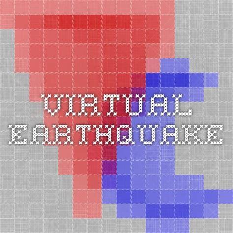 earthquake virtual lab 60 best images about 6th grade science earthquakes on