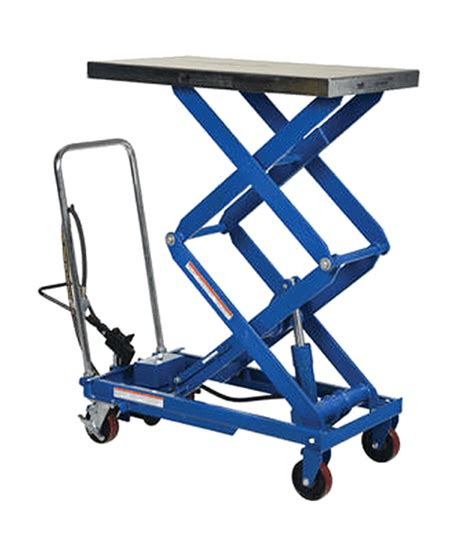 scissor lift platform table vestil pneumatic scissor lift table factory equipment