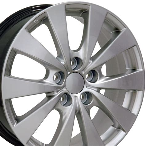 17 Toyota Rims 17 Quot Hyper Silver Avalon Style Wheels 17x7 Set Of 4 Rims